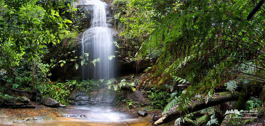 Adelina Falls, Blue Mountains National Park, NSW, Australia