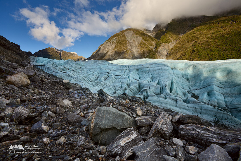 Fox Glacier, Westland National Park, South Island, New Zealand
