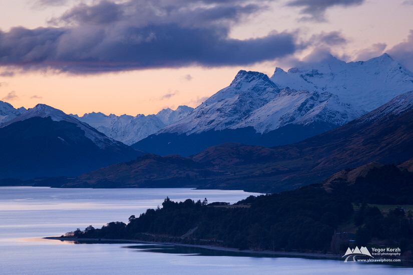 Lake Wakatipu, South Island, New Zealand
