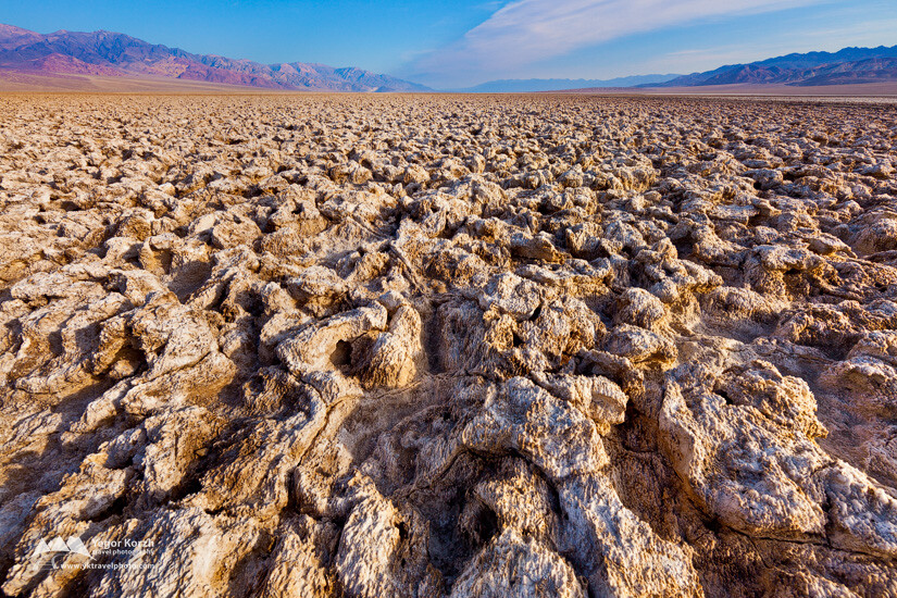 Devil's Golf Course, Death Valley, CA, USA