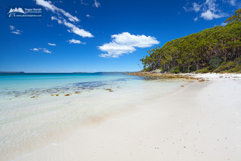 Greenfields Beach, Jervis Bay, NSW, Australia