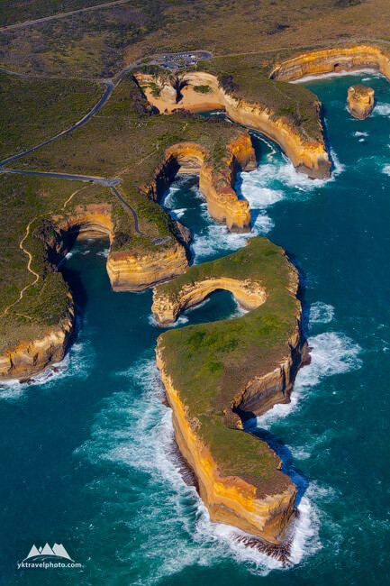 Muttonbird Island, The Twelve Apostles, Great Ocean Road, VIC, Australia