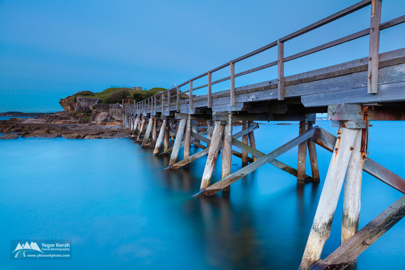 Bare Island Bridge, Sydney, NSW, Australia