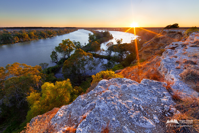 Big Bend, Murray River, SA, Australia