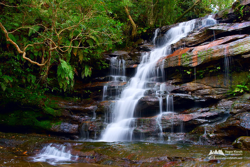Top Somersby Falls, Central Coast, NSW, Australia