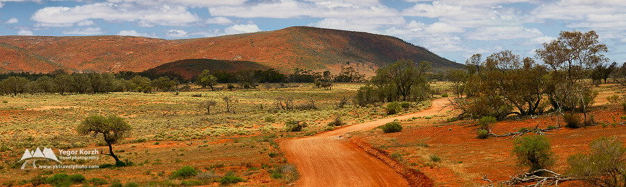 Paney Bluff, Gawler Ranges, SA, Australia