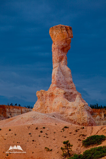 Lonely Hoodoo, Bryce Canyon National Park, Utah, USA