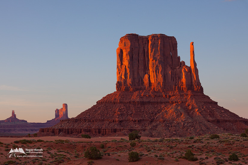 West Mitten Butte, Monument Valley, Arizona, USA