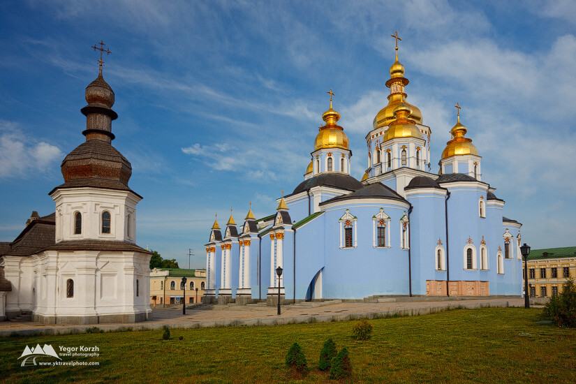 Mykhailivsky Zoloteverkhy (Saint Michaels' Golden-Domed) Cathedral, Kyiv, Ukraine